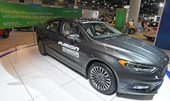 2017 Ford Fusion Energi (D70) Tags: ford fusion hybrid gasolineelectric powered version midsized sedan manufactured marketed second generation plugin energi released us february 2013 2017 vancouver international auto show