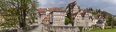 Altstadtansicht Schwäbisch Hall (Rainer Fritz) Tags: panorama schwäbischhall badenwürttemberg altstadt natur deutschland