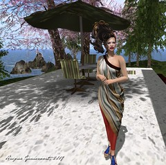 "Photos from ""The Ivory Dame Caper"" (Harper Ganesvoort) Tags: secondlife stories fashion sciencefiction akeruka maitreya fallengods ikon slink ysys virtualdiva sweetkajira mute kccouture glamorize insilicoeast dashiellhammett coffeetime"