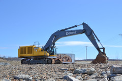 Deere 850D LC (Trucks, Buses, & Trains by granitefan713) Tags: johndeere deere excavator johndeere850dlc deere850dlc 850dlc largeexcavator heavyequipment constructionequipment