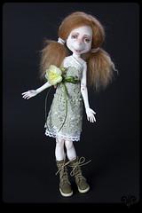 IGLI_Rosa (ViKisART) Tags: bjd ooak dolls artdoll dollmaking handmade unikat künstlerpuppe puppen polyamide шарнирнаякукла кукла авторскаякукла