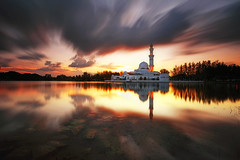 The Miracle (fiz_zero) Tags: nikon nikond750 nikon1635mmf4vr sunset sunrise mosque floatingmosque muslim islam religion building architecture nature landscape sky skyline reflection longexposure summer outdoor beautiful background wallpaper view nisifilter nisimalaysia explore inexplore terengganu kualaterengganu malaysia asia wonderful