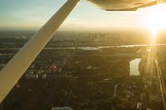 Flying over warsaw (Filip Federowicz (filu)) Tags: warsaw cessna 150 fillipfederowicz sony a900 minolta maf28f2 plane sunset airborn minolta28mmf2 ソニー ワルシャワ warszawa poland