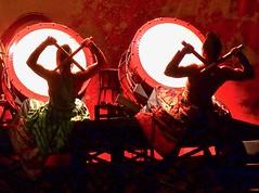 Yamato in red (Kumukulanui) Tags: taiko drums drummers japanese drumming percussion yamato japan