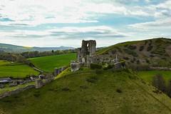 corfe castle (branty16) Tags: purbeck hills manfrotto ruins castle corfecastle corfe dorset 35mm nikon nikond7200