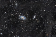 M81 / M82 through the Integrated Flux Nebula (IFN) (Andrew Klinger) Tags:
