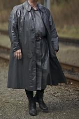 © sunshine pictures (rubber seduction) Tags: kleppermantel klepper gummi raincoat mac rainwear