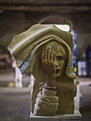 Mano a Mano (Ignacio M. Jiménez) Tags: josémuñoz escultura sculpture piedra stone sanlorenzo exposicion ignaciomjiménez ubeda jaen andalucia andalusia españa spain wow