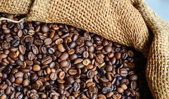 Roasted coffee bean (phuong.sg@gmail.com) Tags: agriculture arabica aroma backdrop background bean beverage breakfast brown cafe caffeine cappuccino clean closeup coffe coffee coffeebeans dark drink dry energy espresso flavor food fresh freshness gourmet grain grained grains harmony health healthy heap hot ingredient macro mocha nobody pile roast roasted sack sacking seed