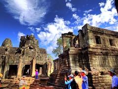 Tempelanlage in Angkor (schaffer.walter) Tags: kambodscha angkor