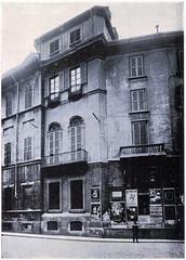Via Olmetto 3 Angolo di Palazzo D'Adda Piantanida 1920-25 (Milàn l'era inscì) Tags: urbanfile milanl'erainscì milano milan oldpicture milanosparita vecchiefoto