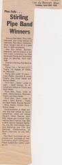 Stirling Pipe Band Pine Falls Newspaper Articles-7 (Hugh Peden) Tags: stirling pipe band pine falls manitoba major william bill macleod