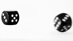 right now (ELECTROLITE photography) Tags: macromondays intentionalblur würfel blackandwhite blackwhite bw black white sw schwarzweiss schwarz weiss monochrome einfarbig noiretblanc noirblanc noir blanc electrolitephotography electrolite