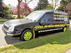 1997 FORD SCORPIO CARDINAL HEARSE 2300cc DXZ7019 - R359NUF (Midlands Vehicle Photographer.) Tags: 1997 ford scorpio cardinal hearse 2300cc dxz7019 r359nuf
