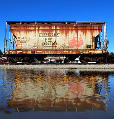 Shore Line (JayLev) Tags: detroit toledo shore line reflection hopper mendota