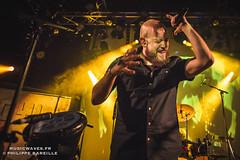 Acyl @ Le Divan du Monde, Paris   20/04/2017 (Philippe Bareille) Tags: acyl ethnicmetal deathmetal hardrock metal amine singer vocalist frontman musician paris france ledivandumonde 2017 music live livemusic show concert gig stage band canon eos 6d canoneos6d musicwavesfr musicwaves