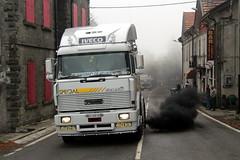 Iveco 190-48 Turbostar (Falippo) Tags: camion truck autocarro oldtimer vintage truckmeeting truckvintage aite cisa passodellacisa italiantruck iveco 19048 turbostar
