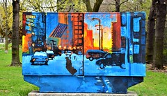 Bell Box Murals Project, Aylmer Avenue and Yonge Street, Toronto, ON (Snuffy) Tags: bellboxmuralsproject aylmeravenueandyongestreet toronto ontario canada level1photographyforrecreation