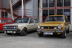 1978 Seat 131 E 1600 [132A.9] & 1976 Simca 1200 TI [928] (coopey) Tags: 1976 simca 1200 ti 928 1978 seat 131 e 1600 132a9