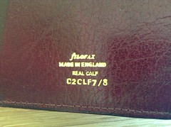 Filofax - the real originals Pt.1 (g_m_a_x) Tags: leather vintage planner filofax madeinengland binder organiser theoriginal twopocket uploaded:by=flickrmobile flickriosapp:filter=nofilter