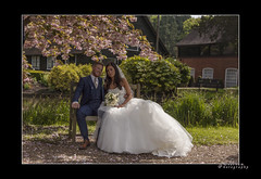 Roz & Nick  1 (mini-b) Tags: wedding canon groom bride kent dad nick daughter bridesmaids fatherofthebride bestman ushers maidstone roz bearsted 2013 may19th proudparent turkeymill eos5dmkii