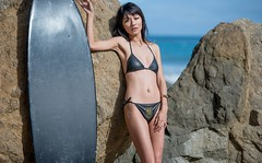 Nikon D800 Photoshoot of Bikini Swimsuit Model in Malibu (45SURF Hero's Journey Mythology Goddesses) Tags: pictures china california girls sea portrait woman sun hot sexy beach girl beautiful beauty fashion cali lens asian ed photography la los model sand women asia pretty surf asians photoshoot image zoom angeles photos pics d board sandy chinese picture lifestyle images full bikini journey ii surfboard resolution mp nikkor 36 swimsuit 800 mythology vr swimsuits afs bikinis heros d800 70200mm 90265 f28g 45surf