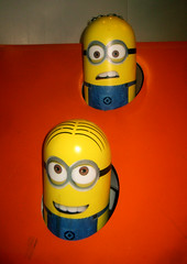 Despicable Me 2 Whack A Mole Minion Game Standee  0194 (Brechtbug) Tags: street new york city nyc 2 two game me yellow computer movie poster theater with theatre cartoon billboard lobby animation critters amc mole 34th whack gru sequel despicable minion standee henchmen standees 2013 a 05202013