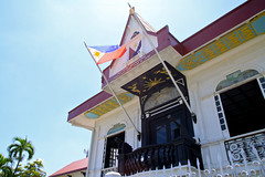celebrating independence (lethologically) Tags: history shrine flag philippines independence cavite philippineflag historicalsites kawit kalayaan aguinaldo