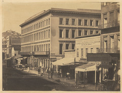 Montgomery Block, Montgomery Street. (SMU Central University Libraries) Tags: sanfrancisco california history buildings cityscapes montgomerystreet pib uswest photographicallyillustratedbooks
