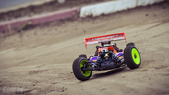 cornering hard (erikmansson) Tags: motion blur radio sand nikon mud action sweden bokeh background yes awesome sm tire swedish racing best tires dirt 18 buggy rc controlled lightroom norrland photshop rm balooning bokehlicious d5000 robertsfors matsangseryd