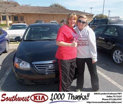 Southwest Kia of Dallas would like to wish a Happy Birthday to Amanda Daniels! (Southwest Kia Dallas) Tags: new southwest car sedan truck wagon happy dallas texas tx used vehicles mesquite bday dfw kia van suv coupe rockwall dealership hatchback dealer customers minvan 4dr metroplex shouts 2dr preowned