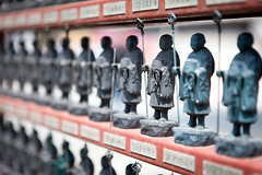 (MagdaBis) Tags: japan temple asia small statues osaka kansai shitennoji coty