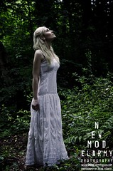 Forest Pixie (www.newmodelarmyphotos.com) Tags: trees white forest model woods dress photoshoot pixie blond blonde whitewitch whitedress gameofthrones modelphotoshoot newmodelarmyphotography nmaphotos newmodelarmyphotos