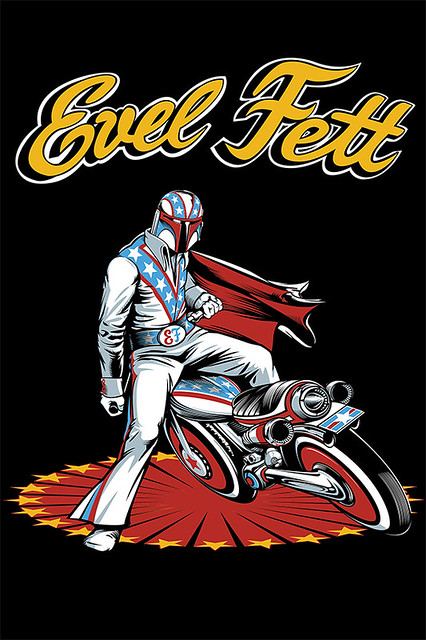 Retro Outlaw – SDCC 2013 帥氣的賞金獵人 特技.費特 EVELFETT