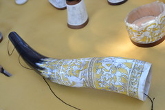 Horn Carving. Smithsonian Folklife Festival 2013. Hungarian Heritage: Roots to Revival.
