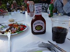 The sauce is the boss! (petrusko.rm) Tags: food baby sweet sauce sony bbq barbeque rays hx20