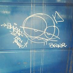 #louisvillegraffiti #brrr tranny? (SnakeTongue) Tags: square graffiti kentucky ky squareformat louisville walden iphoneography instagramapp uploaded:by=instagram foursquare:venue=4b853e18f964a5207a5231e3