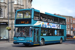 Arriva Midlands 4854 W654SNN (Will Swain) Tags: city nottingham uk england west bus buses birmingham britain transport 21st august midland dg midlands wolverhampton arriva 654 2013 4854 8654 w654snn