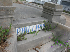 Phillippi name tiles