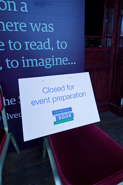 Closed for event preparation