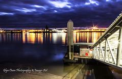The Pier (Glyn Owen Photography & Image-Art) Tags: longexposure ferry liverpool reflections river pier mersey merseyside