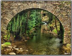 Puente en el museo (Nati C.) Tags: rio puente asturias molino nik museo hdr taramundi mazonovo cruzadasgold
