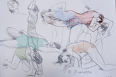 Croquis (J-Watta) Tags: painting sketch drawing croquis