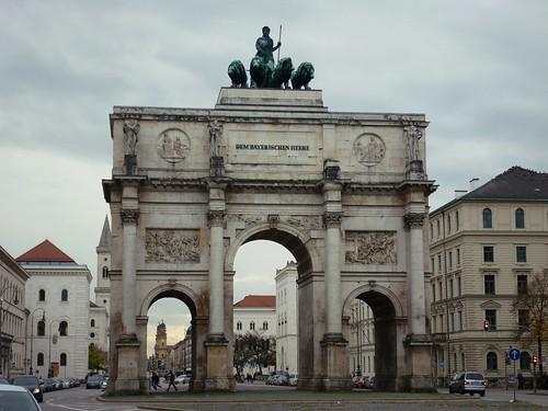 Arc de triomphe de Münich, Allemagne