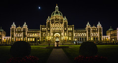 The Night Lights of the British Columbia Parliament Building - Victoria BC Canada (mbell1975) Tags: ca light canada building night island lights evening bc pacific northwest britishcolumbia capital parliament columbia victoria canadian historic capitol dome government british assembly provincial vancover legislative the neobaroque panoramafotografico mygearandme blinkagain ilobsterit