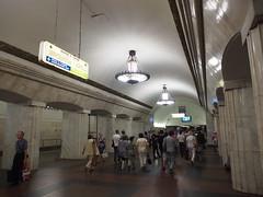 Metro Moscow (ChihPing) Tags: travel underground metro market russia moscow olympus omd  izmaylovo         em5      matryoshky