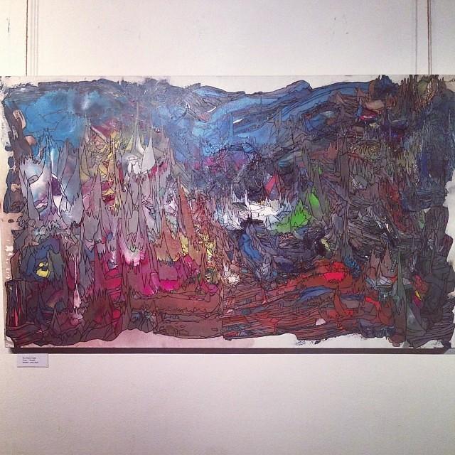 """Elías Alayza Prager en la presentación de nueva Galeria de Arte """"PARALELO"""" #arte #art #arteenlima #artinlima #artista #artist"""