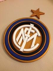 FC Internazionale Logo - Foto 3 (marcotas) Tags: wood italy logo italia handmade soccer woodworking calcio inter legno scrollsaw scudetto marcotas