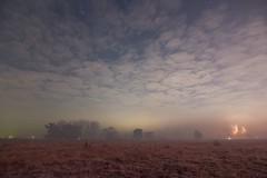 Aufziehende Wolken über dem Moorenbrunnfeld (Kretzsche93) Tags: new winter cold fog nebel year nuremberg wolken firework dem silvester nürnberg sterne feuerwerk häuser 2014 über 2013 altenfurt silvesterfeuerwerk aufziehende moorenbrunnfeld