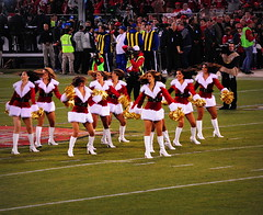 Farewell Candlestick Park, 1971-2013 () Tags: sf sanfrancisco city woman game girl football nikon chica cheerleaders legs stadium nfl thecity sanfrancisco49ers 49ers estadio bayview garota mondaynightfootball fans goodbye footballfield cheerleader posh stadion frau expensive 70300mm happyholidays merrychristmas sportsaction fille estdio pompoms atlantafalcons stade candlestick footballgame nfc footballplayers goldrush espn sfist niners candlestickpark  grassfield footballstadium saofrancisco monsterpark mnf 50yardline 9ers fortyniners nfcwest  thestick santacostume thanksforthememories fiftyyardline livegame d700 49erscheerleaders ftbolamericano ninernation  nikond700 billwalshfield bayviewheights  49ersgoldrush